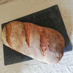 pain blé semi-complet bio au levain naturel