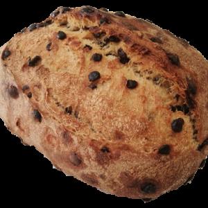 pain pépites chocolat bio au levain naturel