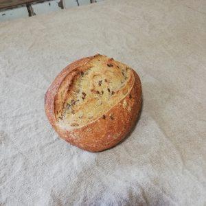 pain blé bio graines lin et tournesol