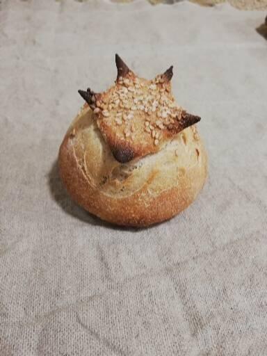 boulie individuelle pain blé bio semi-complet
