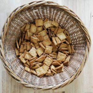 crackers apéritif sésame blé bio